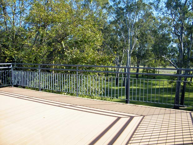 The Wang Central Deck, with view over Merriwa Park