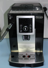 Our DeLonghi Coffee Machine